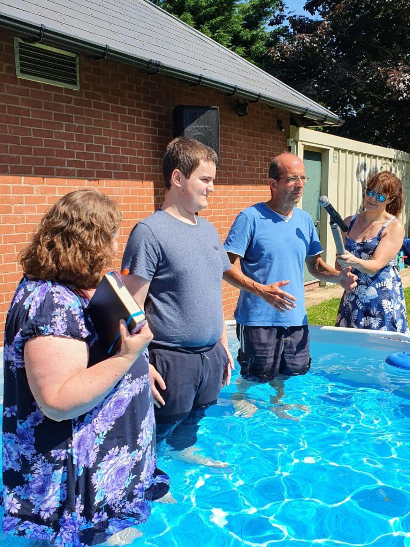 Euan's baptism